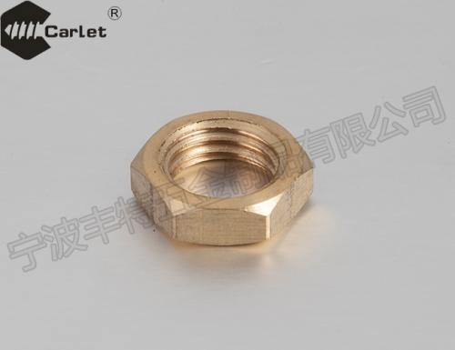 六角薄螺母-细牙(GBT6173-2000) 黄铜