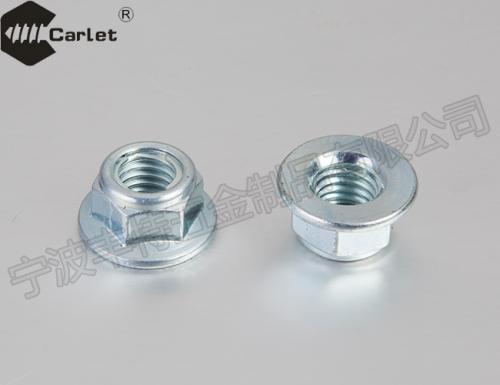 全金属嵌件六角法兰面锁紧螺母(GBT6187.1-2000)